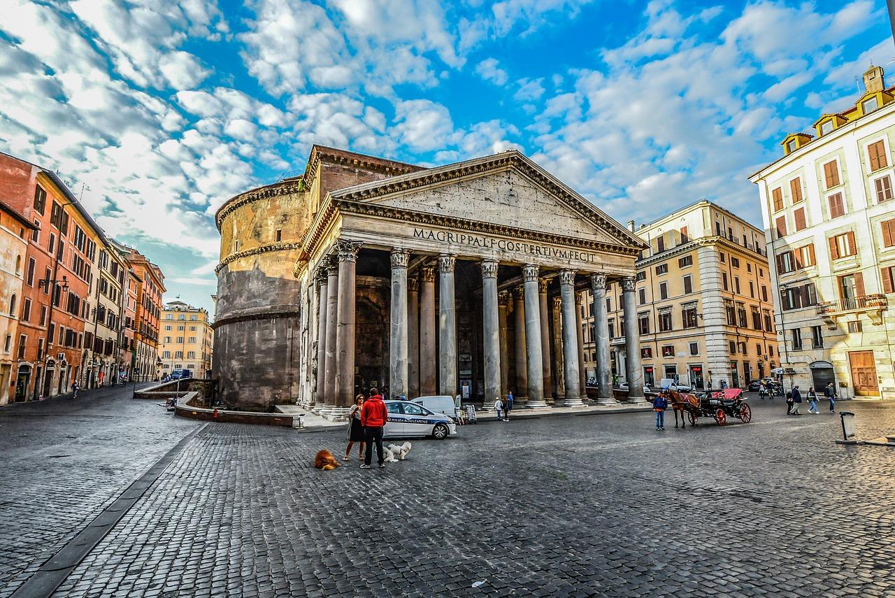 Het beroemde Pantheon