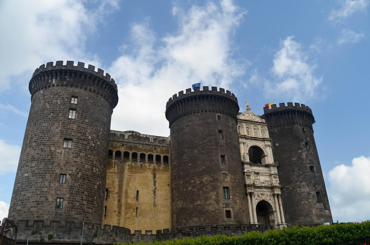 kasteel in napels